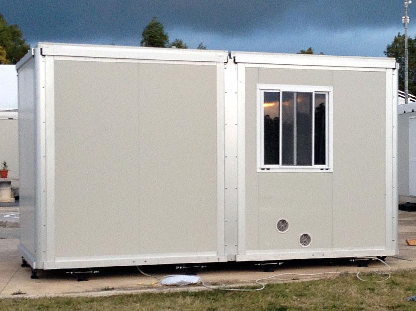 Modulo Uso Ufficio Bioethic Shelter For Emergency